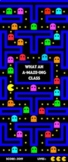 Classroom Door Display - Pacman