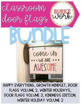 Classroom Door Flags Bundle (Growing)