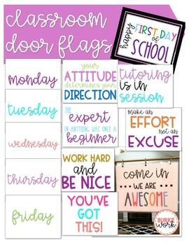 Classroom Door Flags: Volume 2