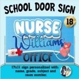 Classroom Door Sign 18 - Personalized