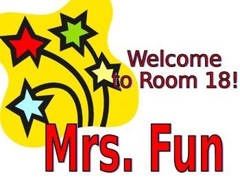Classroom Door Sign 2
