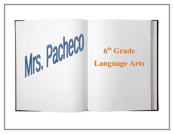 Classroom Door Sign - Editable Book Layout