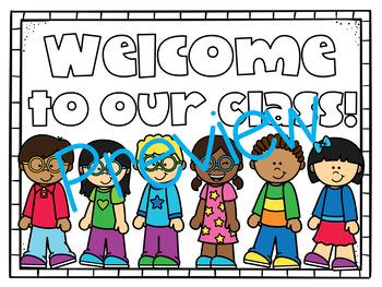 Classroom Door Signs!