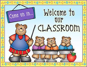 Classroom Door Signs Printable Download