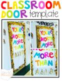 Classroom Door Template
