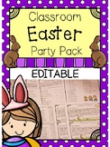 Classroom Easter Party Planning Pack - EDITABLE