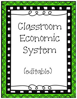Classroom Economic System