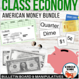Classroom Economics Bundle, Money Bulletin Board, American