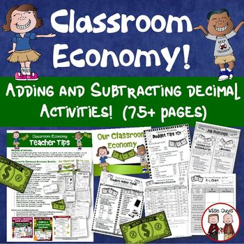 Classroom Economy Simulation Bundle