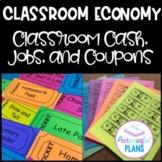 Classroom Economy: Jobs, Bucks (Label Your Money), & Reward System