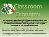 Classroom Economy- 4th and 5th Grade (management and SS al