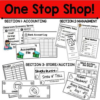 Classroom Economy Super Bundle: An Educational Classroom Management Tool