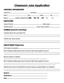 Classroom Economy Application