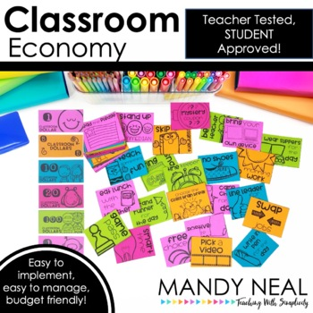 Classroom Economy | Award Coupons | Behavior Management