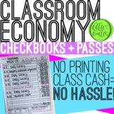 Classroom Economy: Behavior Management System