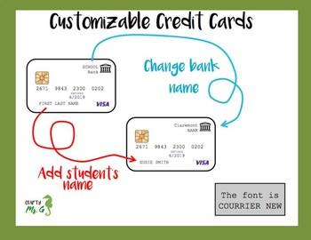 Classroom Economy: Cash, Credit cards, check & Venmo