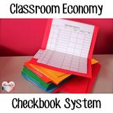 Classroom Economy Checkbook System***EDITABLE***
