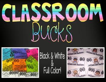 Classroom Economy (Classroom Bucks)