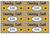 Classroom Economy: Country Cash