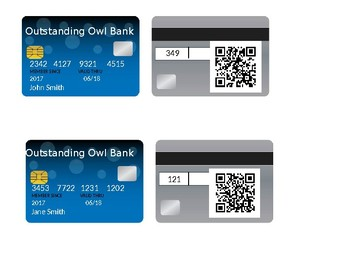 Classroom Economy Debit Cards