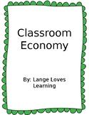 Classroom Economy (Editable)