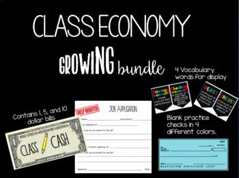 Classroom Economy Growing Bundle Class Cash