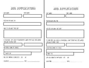 Classroom Economy Jobs & Application