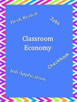 Classroom Economy - Jobs and Rentals