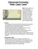 Classroom Economy: Math Class Cash