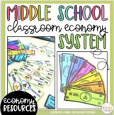 Classroom Economy {Middle School Classroom Economy}