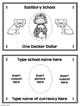 Classroom Economy Money Editable