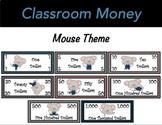 Classroom Economy Money (Mouse Theme)
