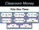 Classroom Economy Money (Polar Bear Theme)