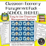 Classroom Economy - Money System - SCHOOL THEME