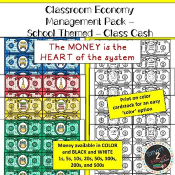 Classroom Economy - Money System - SCHOOL THEME