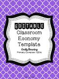 Classroom Economy Money Template