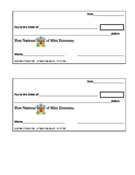 Classroom Economy Pack