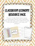 Classroom Economy Resource Pack
