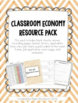 Classroom Economy Resource Pack