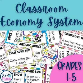 Classroom Economy - Reward Coupons with Money