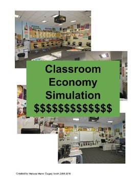 Classroom Economy Simulation, Management Strategy, & Personal Finance Activity