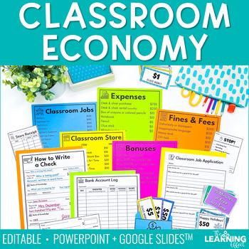 Classroom Economy {Editable}