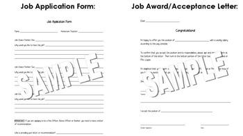 Classroom Economy Student Jobs Pack