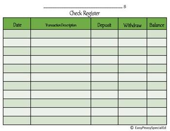 Classroom Economy System-Budgeting and Bills