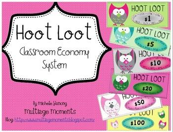 Classroom Economy System: Hoot Loot