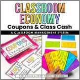 Classroom Economy System- Reward Coupons & Class Cash