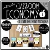 Classroom Economy Three Level Incentive Program