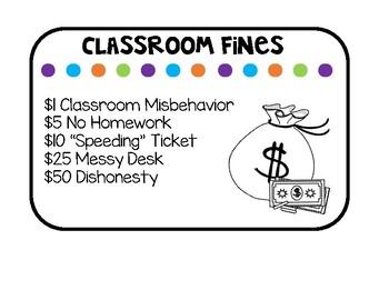 Classroom Economy Using Class Dojo