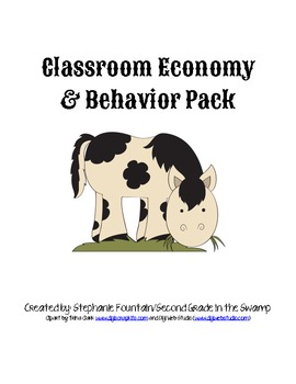 Classroom Economy and Behavior Pack