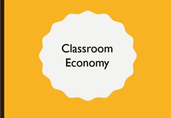 Classroom Economy and Jobs